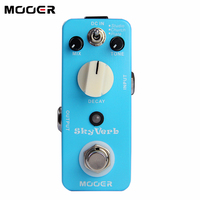 Guitar Pedal MOOER Effect Pedal Skyverb High Quality Digital Reverb Pedal Free Shipping