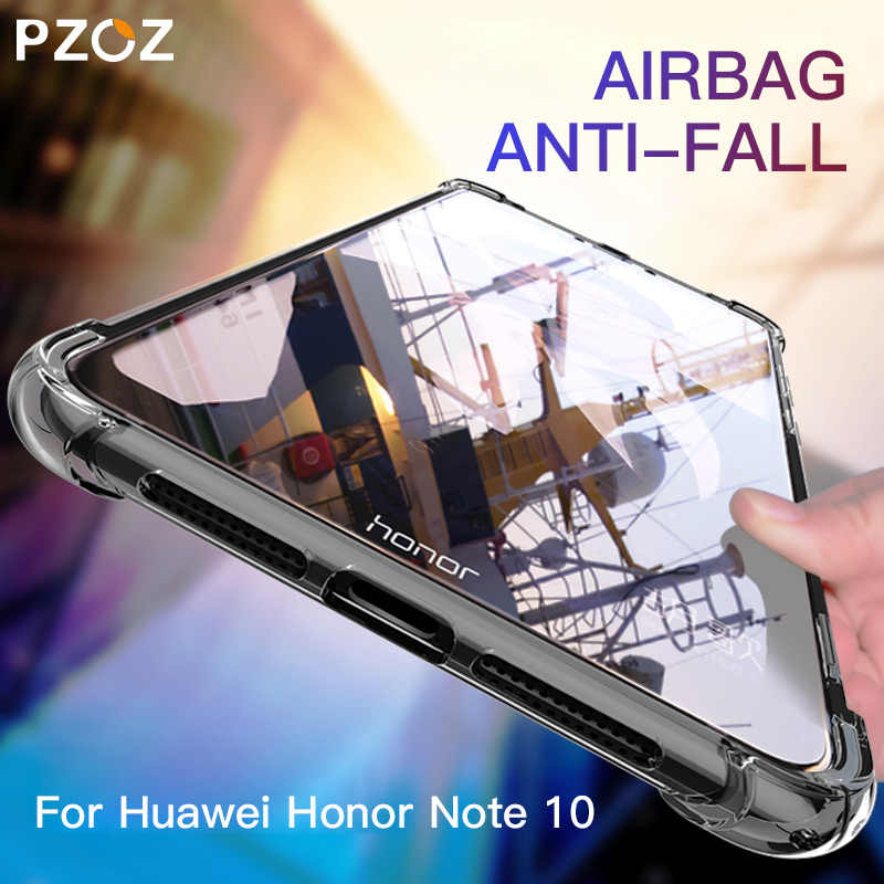 PZOZ For Huawei Honor Note 10 Case Shockproof Luxury Silicone TPU Soft Protective Shell For Huawei Honor Note 10 Protector Case