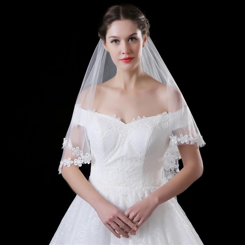 Wedding Veils Styles: LAN TING BRIDE One Tier Modern Style Bridal Princess