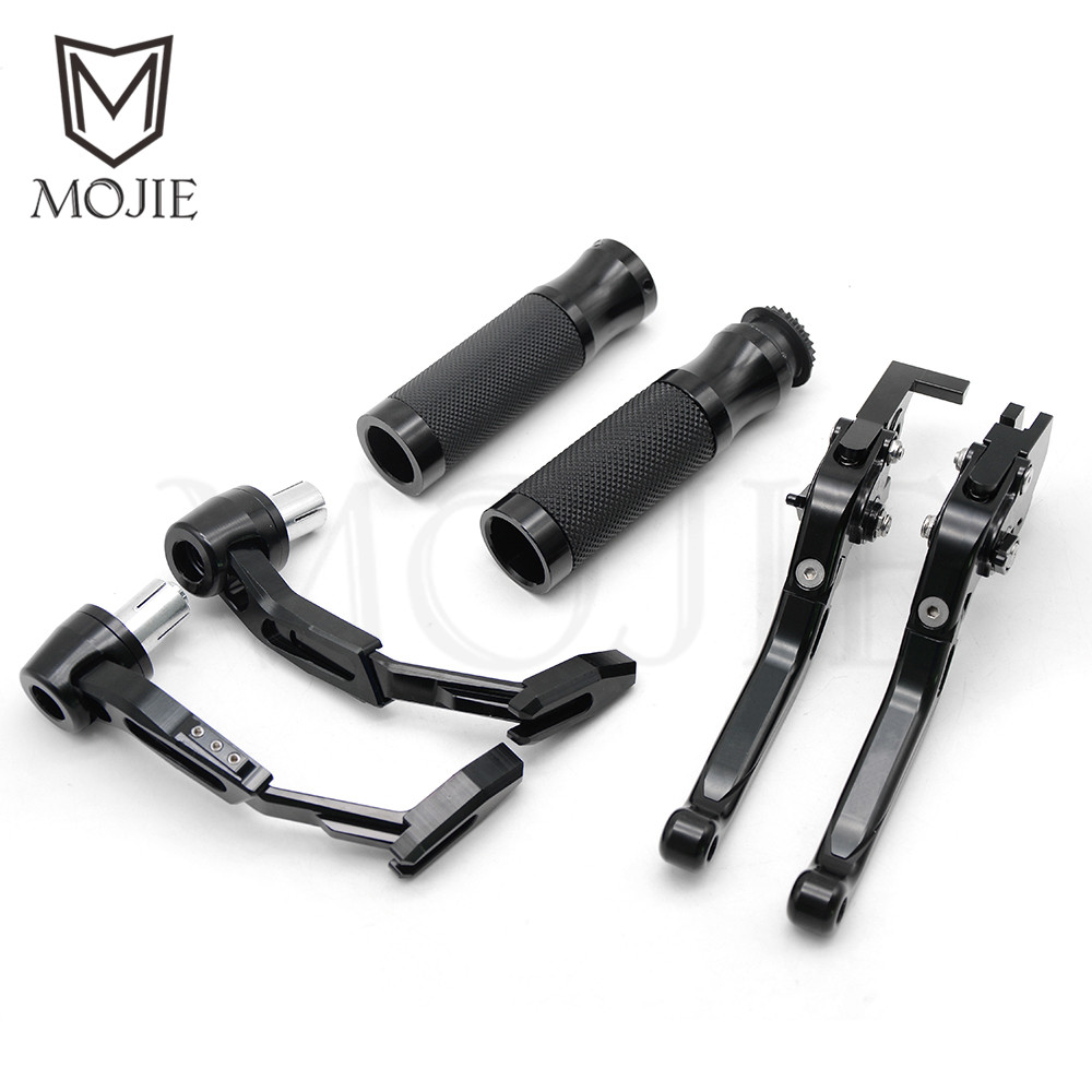 Motorcycle Brake Clutch Levers Handle Bar Hand Grips Lever Guards Set For Honda CBR1000RR CBR 1000RR CBR 1000 RR FIREBLADE SP стоимость