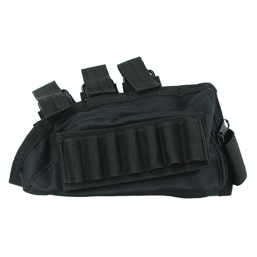 Funpowerland Μαύρο Χρώμα Κυνηγετικό όπλο Κέλυφος Shell Κάτοχος & Rest Cheek