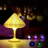 Mini USB LED Night Light Colorful Changeable Desk Lamp USB LED Touch Control Night Light for Parties Decorating New Year Gift