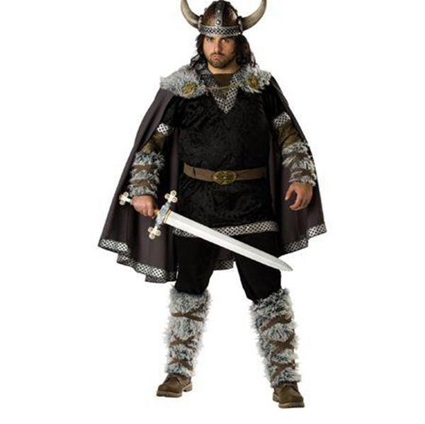New Adult Womens Mens Sexy Halloween Party Snowfield Hunter Costumes Outfit Fancy Viking Warrior Cosplay Outfits W9067
