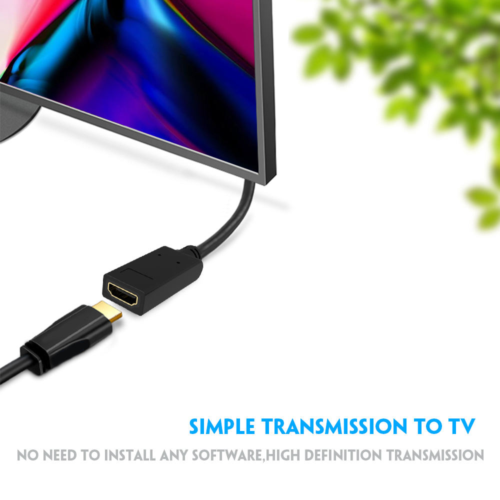 US $2 84 21% OFF|Vmade NEW BEST 4k displayport display port to HDMI  converter adapter cable for pc laptop convertidor hdmi displayport  proyector on