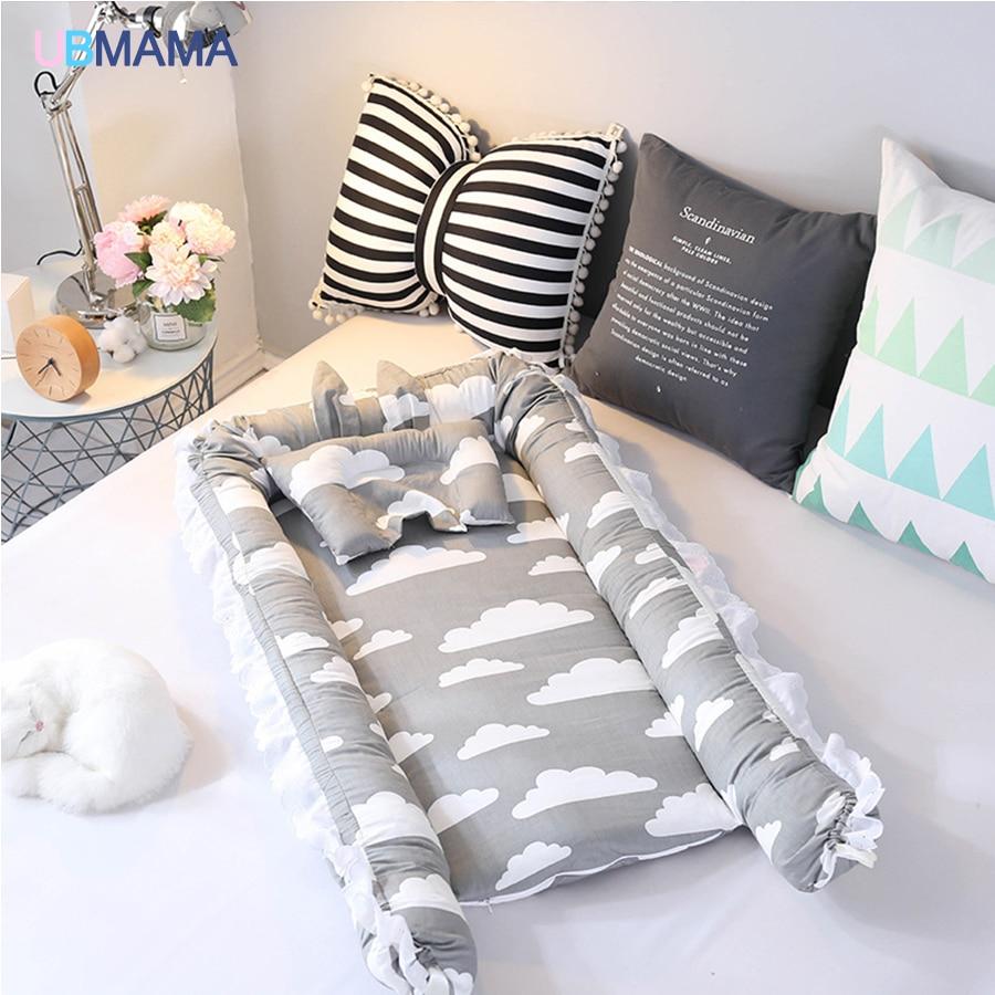 dorminhoco do bebê Recém-nascidos de algodão Rendas
