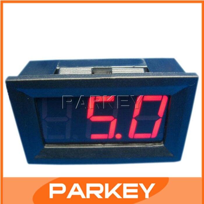 ФОТО 100pcs DC Digital Voltmeter 0-100V Voltage Measurement Digital Panel Meter LED Red Car Motorcycle Voltage Monitor #200126