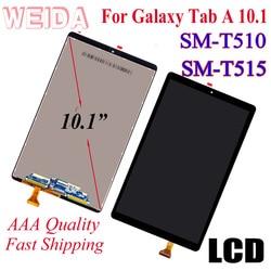 WEIDA LCD Replacment 10,1 Für Samsung Galaxy Tab EINE 10,1 (2019) WIFI T510 SM-T510 T510N LCD Display Touch Screen T515