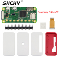 Raspberry Pi Zero W Starter Kit 5MP Camera Official Case Heat Sink GPIO Header for Raspberry