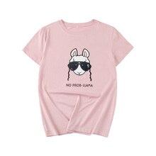 Yan Qing Huan S-5XL 2019 New Pink Fashion Letter Printing Harajuku Tops Tees Summer Loose Short-sleeved Cotton Womens T-shirt