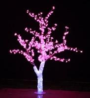 Venta Envío Gratis 5ft 1 5 M LED Navidad Año Nuevo Fiesta vacaciones luz LED cristal Cerezo