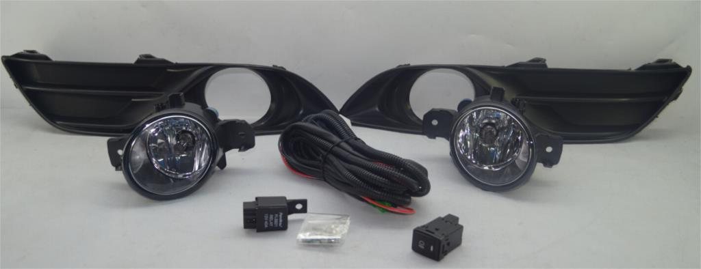Free Shipping OEM Fog Light Lamps Switch Harness Kit for Nissan Sentra bluebird Sylphy