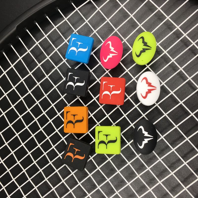 50pcs Assorted Types F And Nadal Bull  Tennis Racket Vibration Dampeners,tennis Racquet Shock Absorber Shock-absorbing