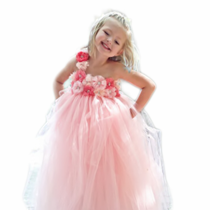 2016 Halloween Princess Dress Up ,1 years old Baby birthday dresses ...