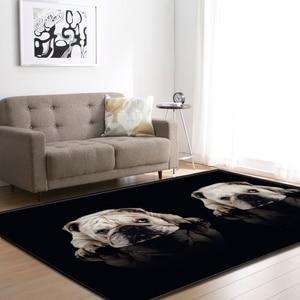 Image 3 - Cartoon Large Living Room Carpet 3D Pet Shapi Dog Tea Table Rugs Home Decor Baby Crawling Mat Kid Bedroom Area Rug Carpet