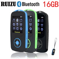 New Original RUIZU X06 Bluetooth Sport MP3 Player With 1 8Inch Screen Can Player 100Hours High