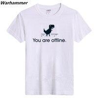 Kreative Google 404 Sie Sind Offline Mens Regular T-shirt Frauen Fashion Casual T shirts T Geeks Geschenke Große Größe 100% Baumwolle Top