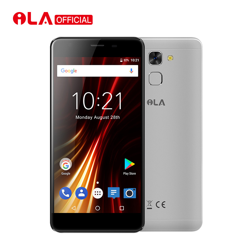 iLA S1 2GB RAM 16GB ROM Mobile Phone MT6737T Quad Core  5000mAh 5.5Inch FHD Cell Phone 13MP+5MP Back Fingerprint Smartphone