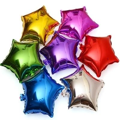 1 шт 18 дюймов звезда Форма алюминия Фольга шар для Свадебная вечеринка украшения на день рождения детское праздничное поплавок Шарики Игрушечные лошадки