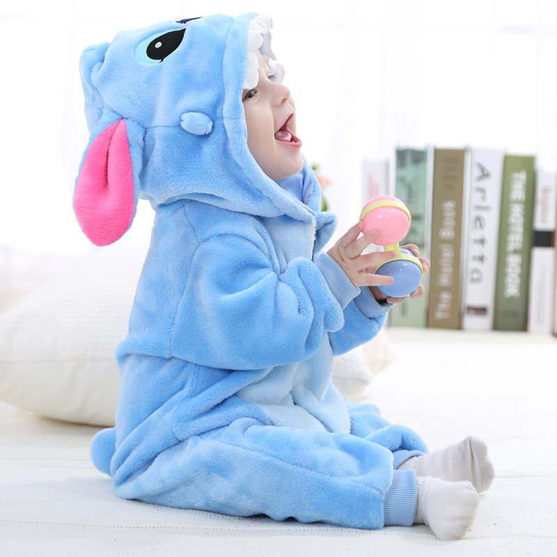 [blueshine]Spring Autumn Flannel Baby Boys Clothes Cartoon Animal Jumpsuits Baby Clothes Infant Girls Rompers Baby Clothing 0 12m autumn cotton baby rompers cute cartoon clothing set for baby boys infant girls clothes jumpsuits foot coveralls romper