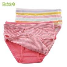 SLAIXIU, 6 шт./лот, детское нижнее белье из хлопка детские трусы для мальчиков и девочек высококачественные органические короткие трусики, одежда для детей возрастом от 2 до 8 лет