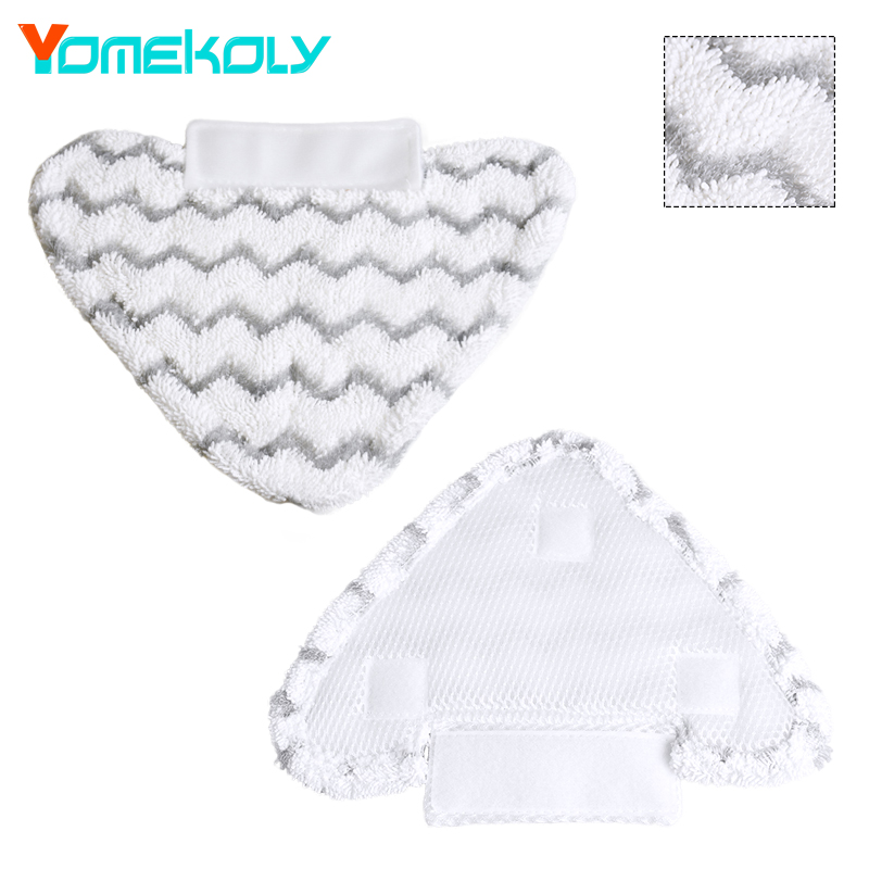 1PC Steam Mop Pad for shark Drip Grip S3973 Triangle Microfiber Mopping Cloth Pads Floor Vacuum Cleaing Cloth Pads Replacements c s 1 6 steam киев