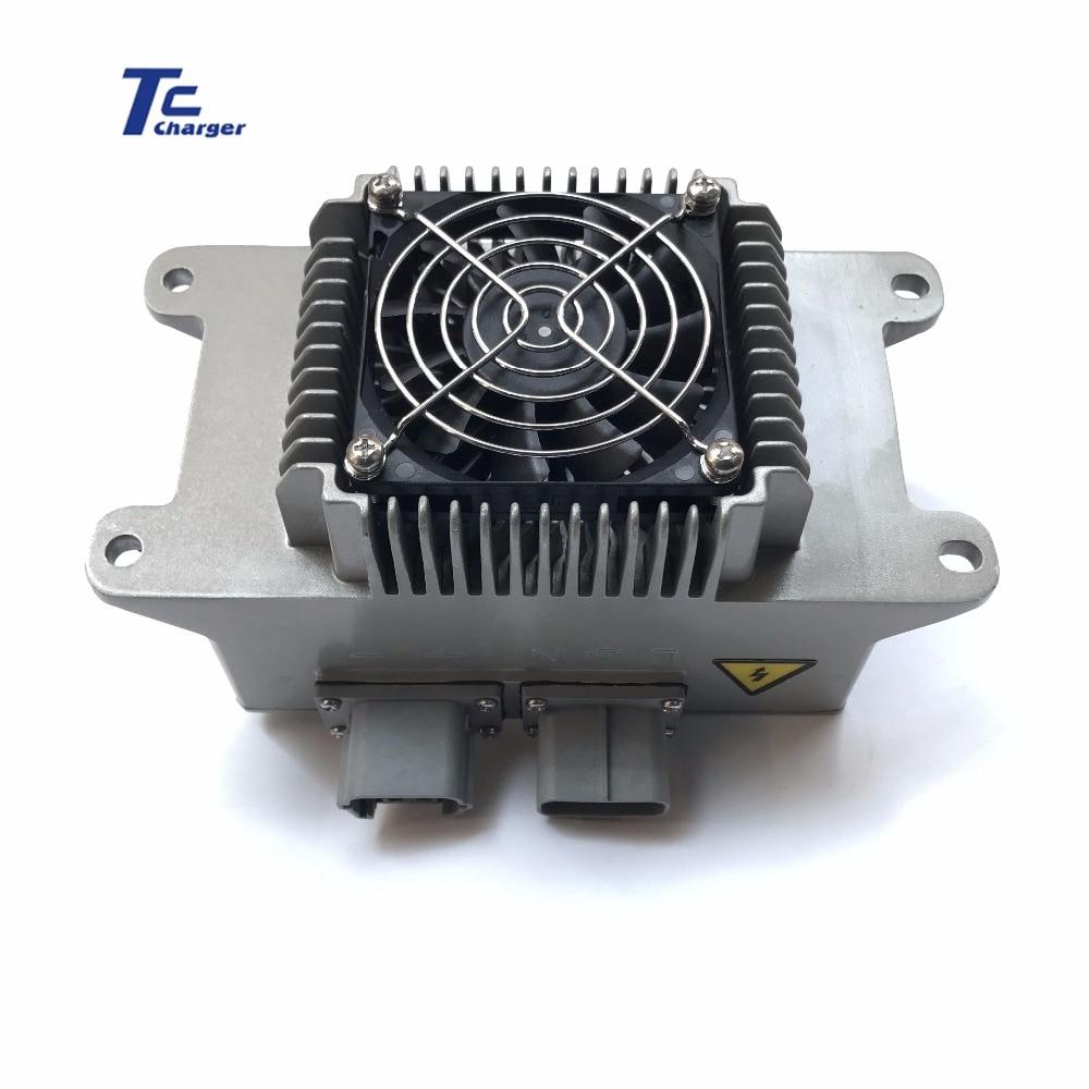 Chargeur ELCON 1.8KW TC de qualité supérieure pour batterie au Lithium et au plomb 48V60V72V96V pour Scooter, EV, voiture, camion