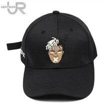 Dropshipping Singer Rip xxxtentacion Cap Dreadlocks Snapback Cap For Men Women Hip Hop Dad Hat Cotton Baseball Cap Bone Garros