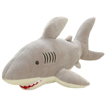 GEEK KING 70cm Kawaii cute shark Plush Toy baby pillow cloth doll kids toys birthday gift for Children
