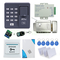 Cheap Price Of Full Fingerprint Door Lock System RFID Card Door Bell Remote Control For Access