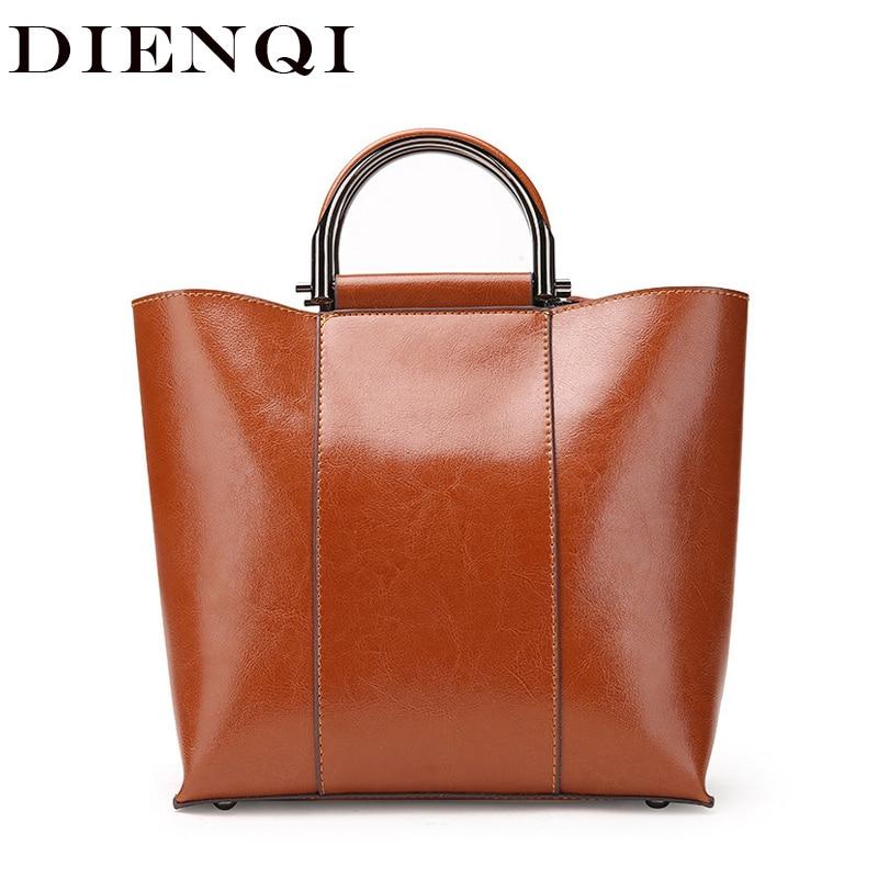 DIENQI Genuine Patent Leather Crossbody Bag for Women 2018 Luxury Ladies Handbags New Arrivals Female Top