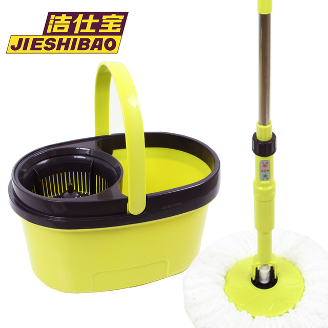 Mop rotating electric rotating mop automatic double mop