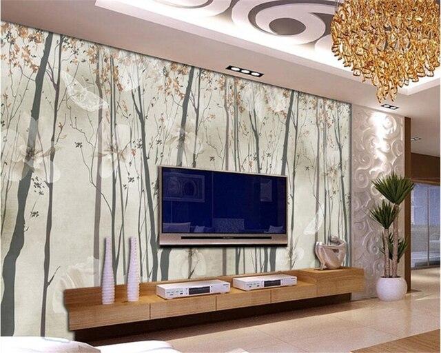 Hervorragend Beibehang Wohnzimmer Hintergrund Dekoration Tapete Nostalgischen
