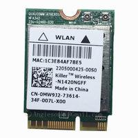 Killer N1420NGFF 802.11ac + BT4.0 867Mbps WIFI WLAN Card N1420 0MW9J2 NGFF for DELL ALIENWARE 15 17 Toshiba Sony Samsung