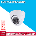Onvif H.264 1.0MP SONY 1200TVL HD 1080P Ultra lowillumination camera with IR-Cut 3.6mm Lens Dome Camera Security Camera