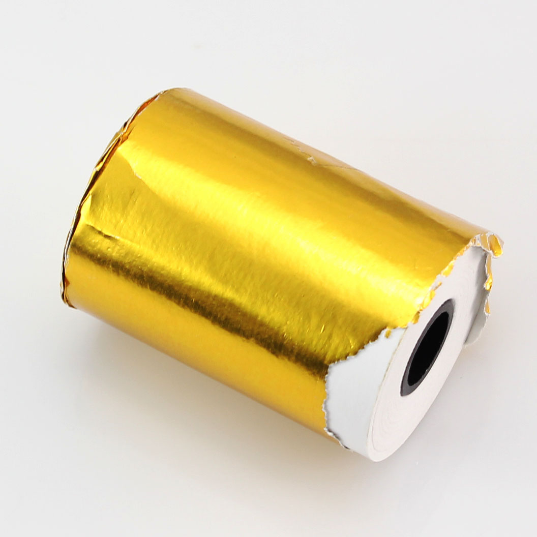 1 Roll 80x40mm Thermal Paper Cash Register Receipt Roll for Docket Printers Durable thermal paper