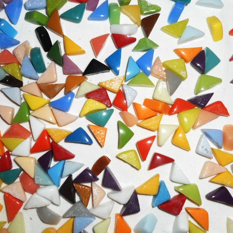 650 шт/600 г/лот, нерегулярная мозаичная плитка, смешанные цвета, аксессуары ручной работы. Материал для рукоделия, домашний орнамент, 1x1,5x0,6 см