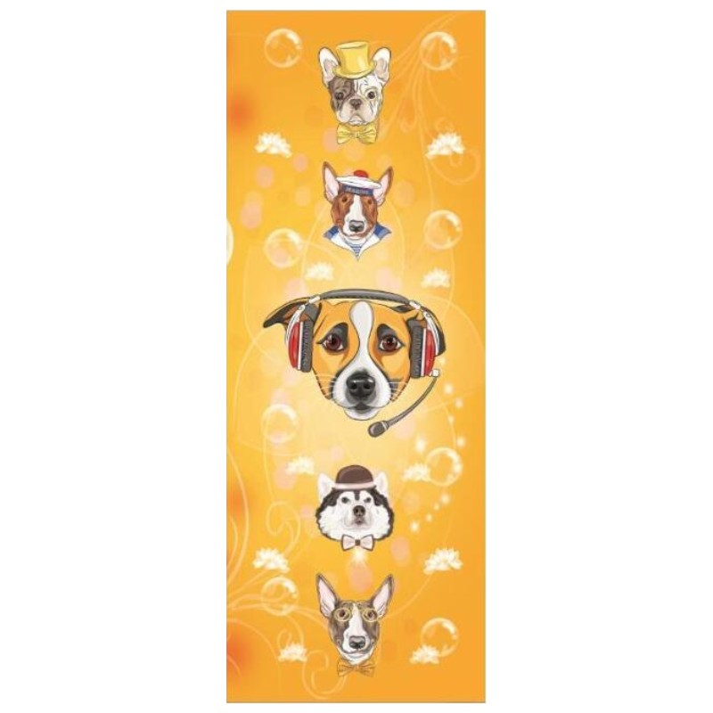 New Printed Yoga Mat Suede Natural Rubber 183*68cm Anti Slip Mat for Fitness Pilates Gymnastic Mat Can Be Customized Separately-in Yoga Mats from Sports & Entertainment    3