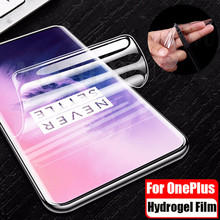 3D Front+Back Clear Soft TPU Hydrogel Film For Oneplus 7 Pro 6T 1+6T 7 Full Cover Premium Screen Protector Oneplus 5T 5 3 3T