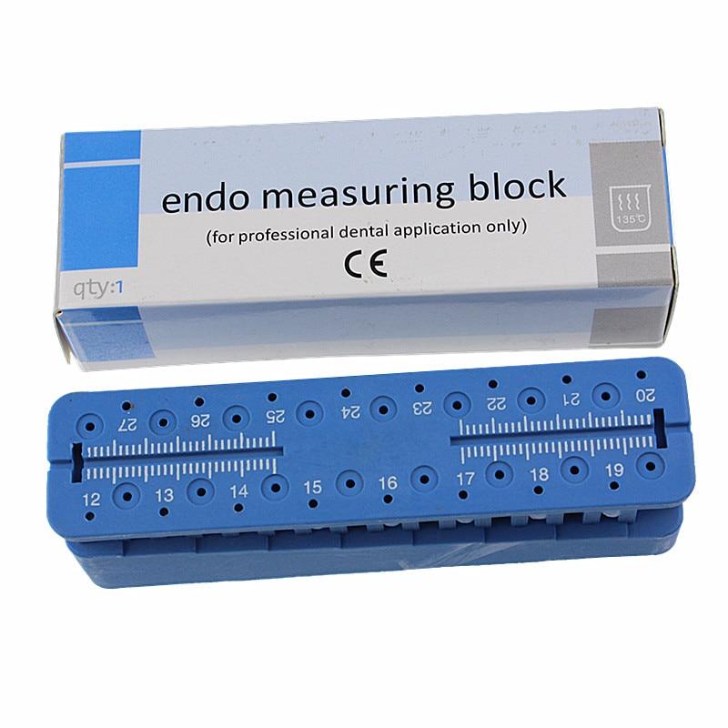 الأسنان إندو بلوك ملف حامل أدوات القياس التبعي حاكم حشو اللبية اختبار مجلس ED-02