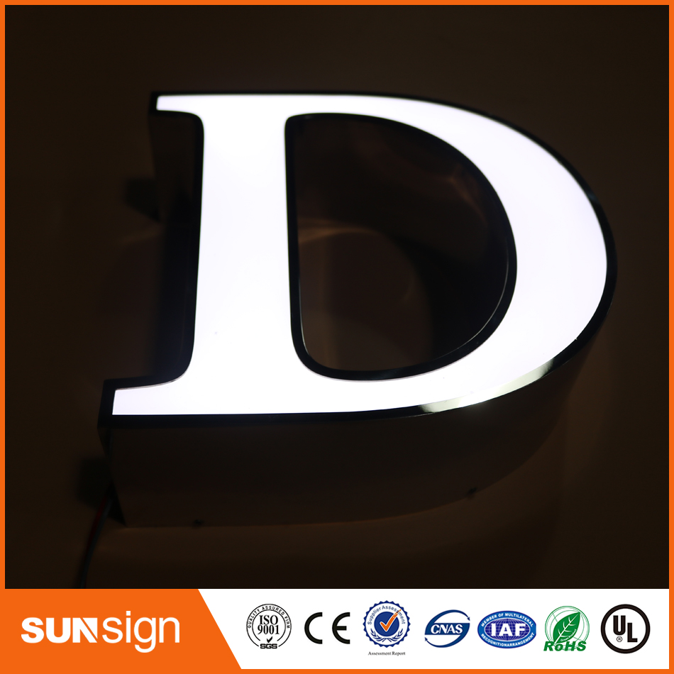 Customized Led Frontlit Channel Letter Sign