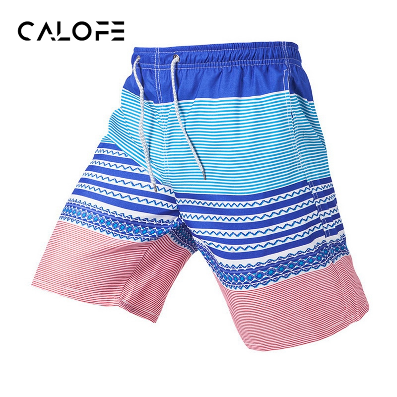 CALOFE 2018 New Plus Size 4XL Beach Swimwear Men Swim   Shorts     Board     Shorts   Swimming Trunks Bermuda Surf   Short   Sport Swimsuit Male