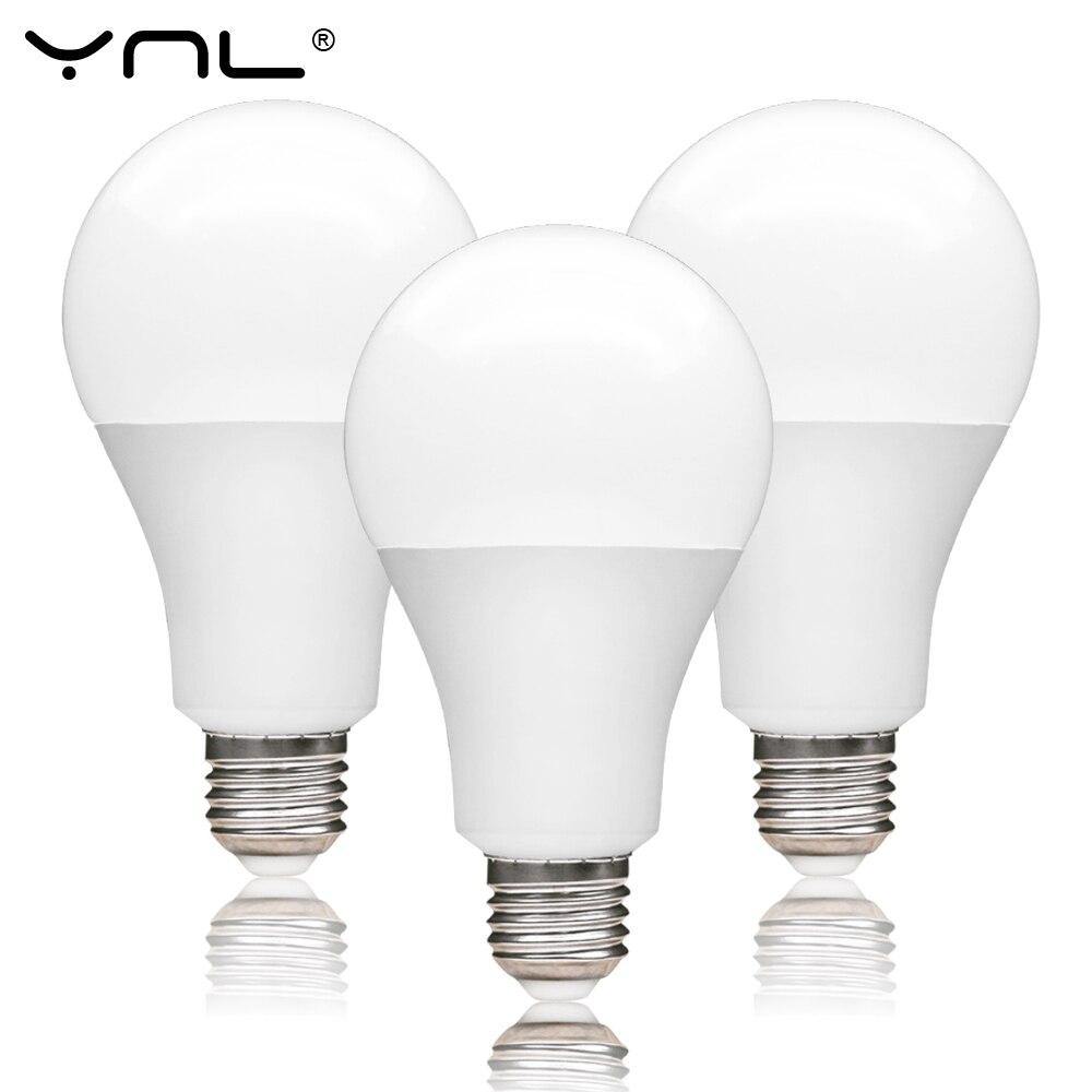 LED Bulb E27 220V 3W 6W 9W 12W 15W 18W Ampoule Lampada LED Lamp 220V Spotlight Lampara LED Light Bulb For Home Cold Warm White
