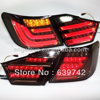 Camry Aurion LED Rear lights  For TOYOTA  2012-2013 year Black Color V1
