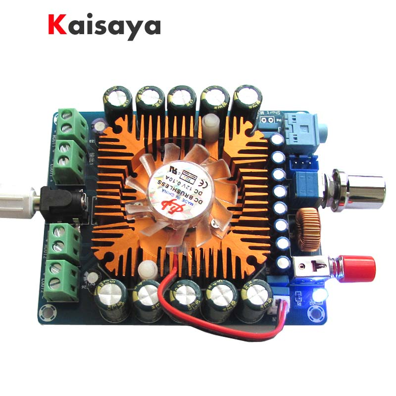 XH-M521 DC 12 V-16 V TDA7850 4 Canaux 4 way 50 W x4 HIFI Voiture stéréo Numérique Amplificateur conseil A2-010