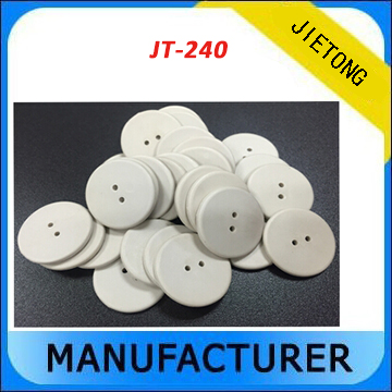 ISO 18000-6C PPS material washable over 300 times UHF passive RFID laundry tags for garments industrial 100pcs high temperature resistant uhf rfid pps laundry tag small with alien h3 chip used for laundry management