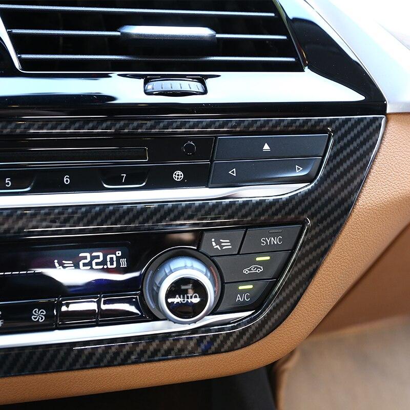 Per Discovery sport 2015/2016/2017/ABS plastica in fibra di carbonio Mode Button Frame Trim Accessories