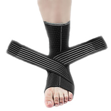1 Pcs Sports Safety Ankle Support Brace Guard High Elasticity Bandage Protection Waterproof Basketball Football Anti-twist Ankle