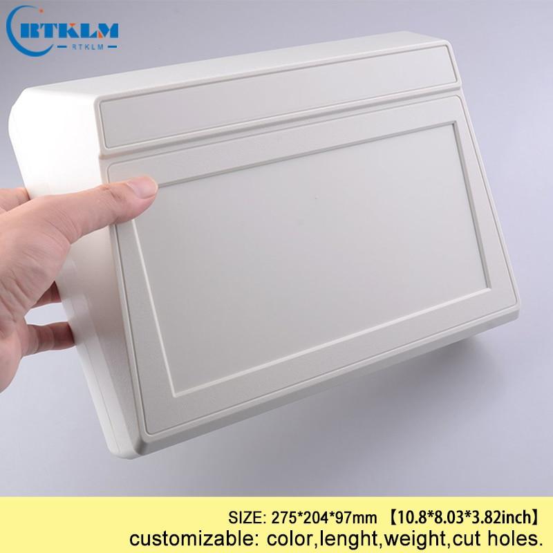 DIY пластиковая коробка для проекта, корпус из АБС-пластика, Электронная распределительная коробка, заказной ящик для инструментов, маленькая настольная оболочка 80*50*19 мм