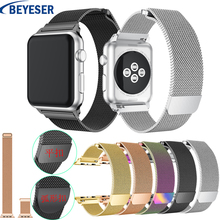 Milanese Loop Watchstrap for Apple Watch Band 38mm 42mm smart watchband for Apple Watch Series 3 2 1 sport Watch Wrist Straps цена и фото