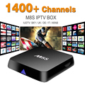 M8S Amlogic S812 Android Smart TV Caja con IUDTV Cuenta Iptv Árabe deporte Canal IPTV Quad Core 2 GB RAM 8 GB ROM IPTV Set Top caja